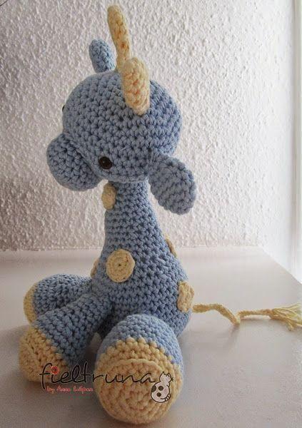Jirafa Amigurumi Giraffe Free Pattern And Spanish