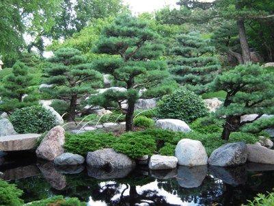 Japanese Stone Garden Design In japanese garden design Fish Ponds
