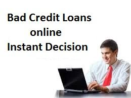 Want Instant Decisions On Bad Credit Loans Bad Credit History Is Where You Can Make These Decisions An Bad Credit Loans Online Bad Credit Loans For Bad Credit