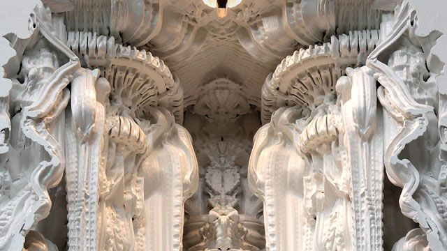 Digital Grotesque – Amazing Study of 3D Printed Architectural Concepts