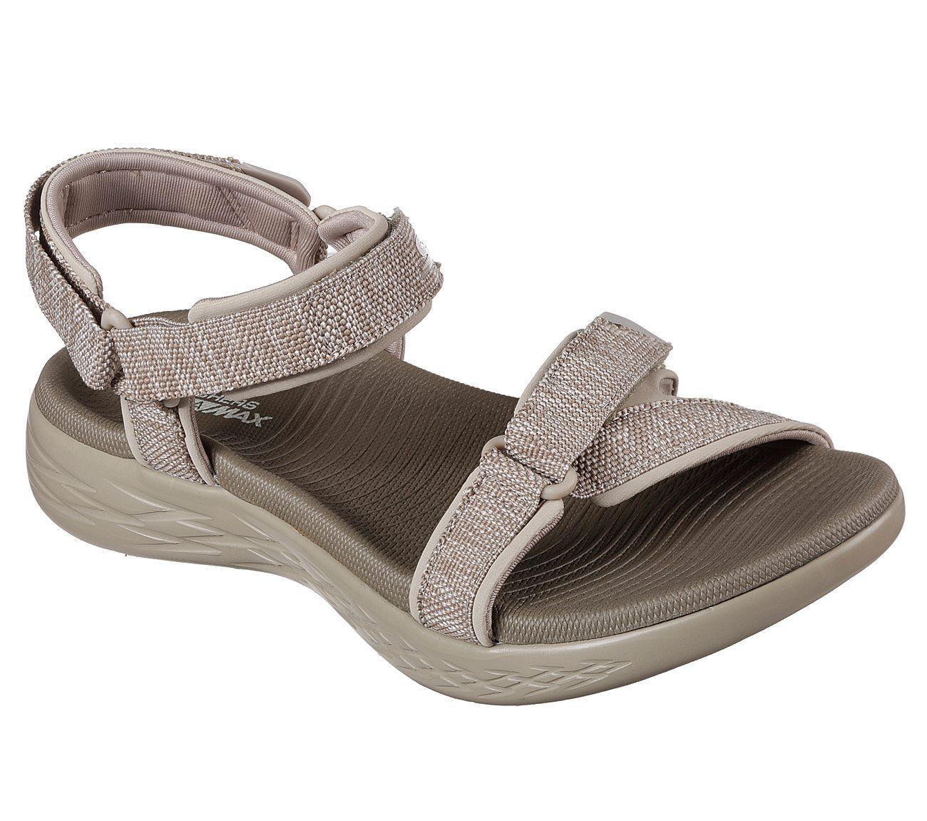 Ankle strap sandals, Skechers