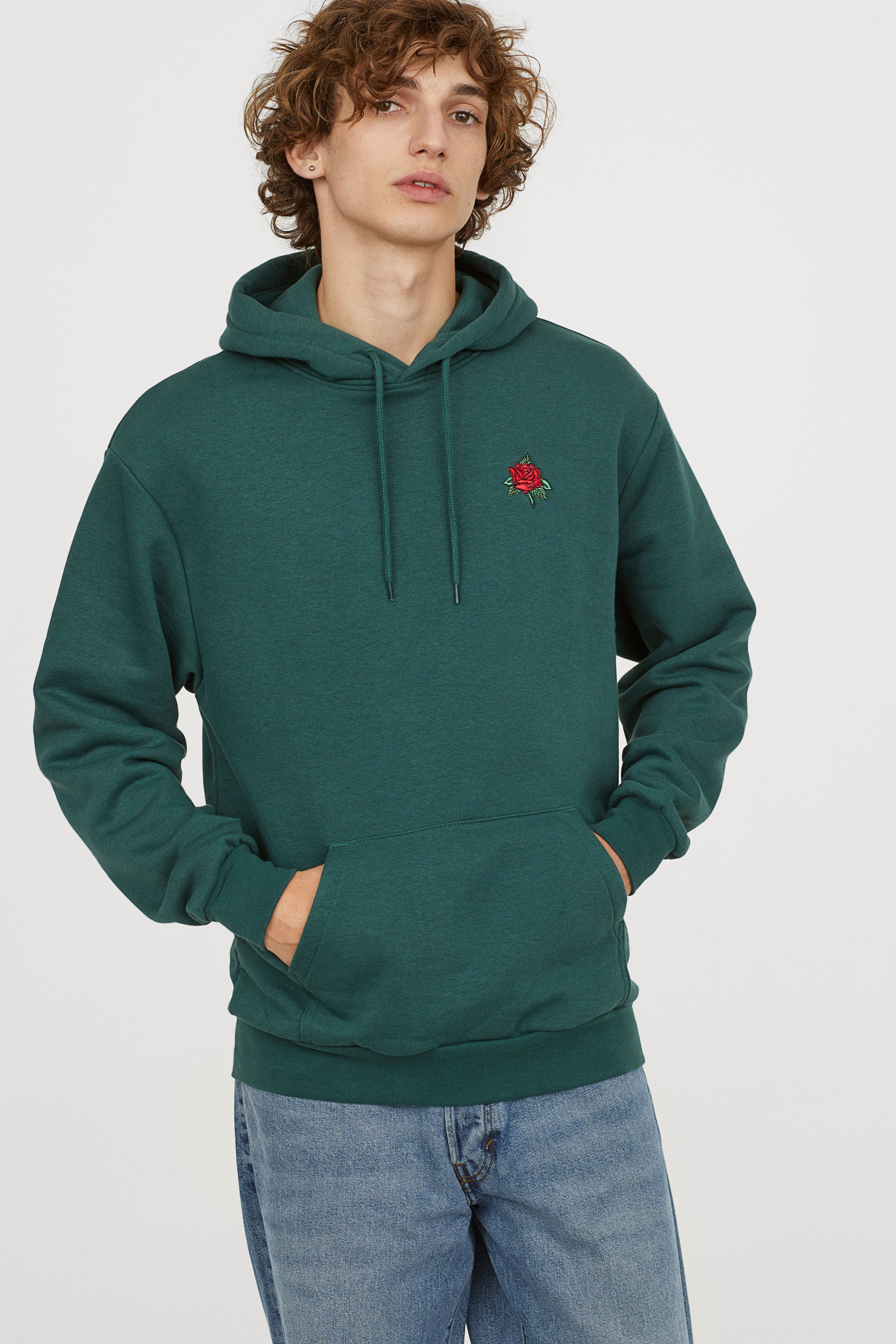 Pin By Cate Strub On Boys Shopping Trip Dark Green Hoodie Hoodies H M Men [ 4320 x 2880 Pixel ]