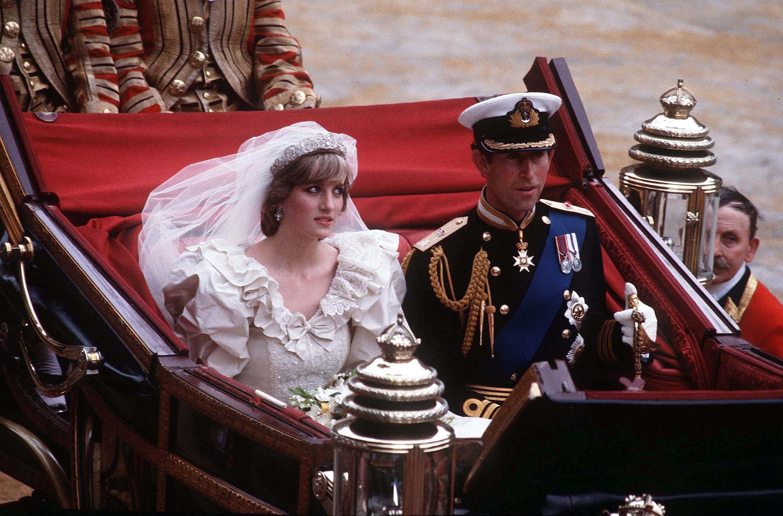 Relive Prince Charles and Princess Diana's iconic royal