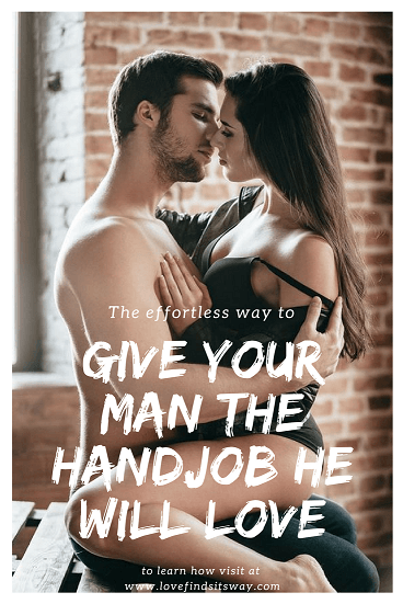 how do you give a hand job