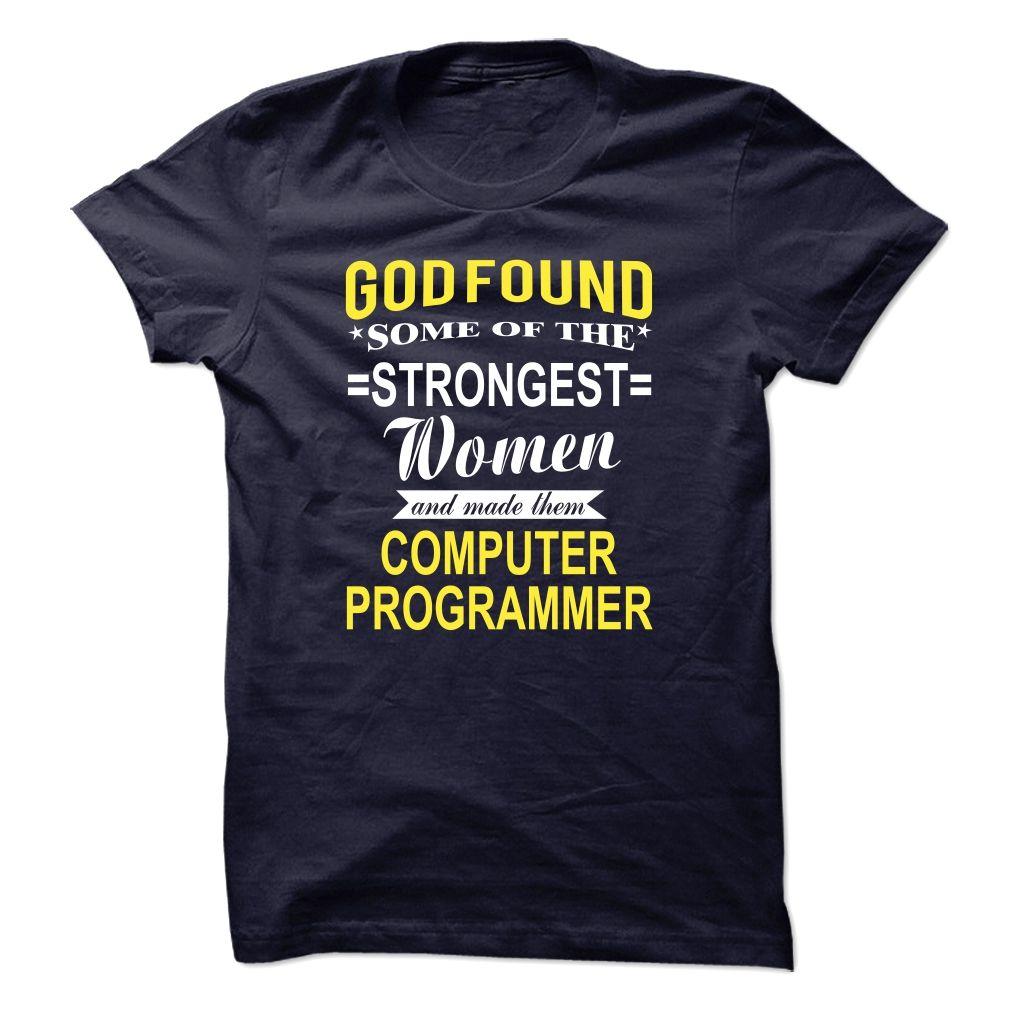 Made Them Computer Programmer T Shirt