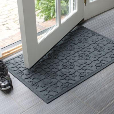 Water Amp Dirt Shield Damask Mat Frontgate Balcony