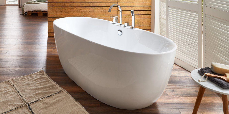 Freistehende Badewanne Mit Armatur