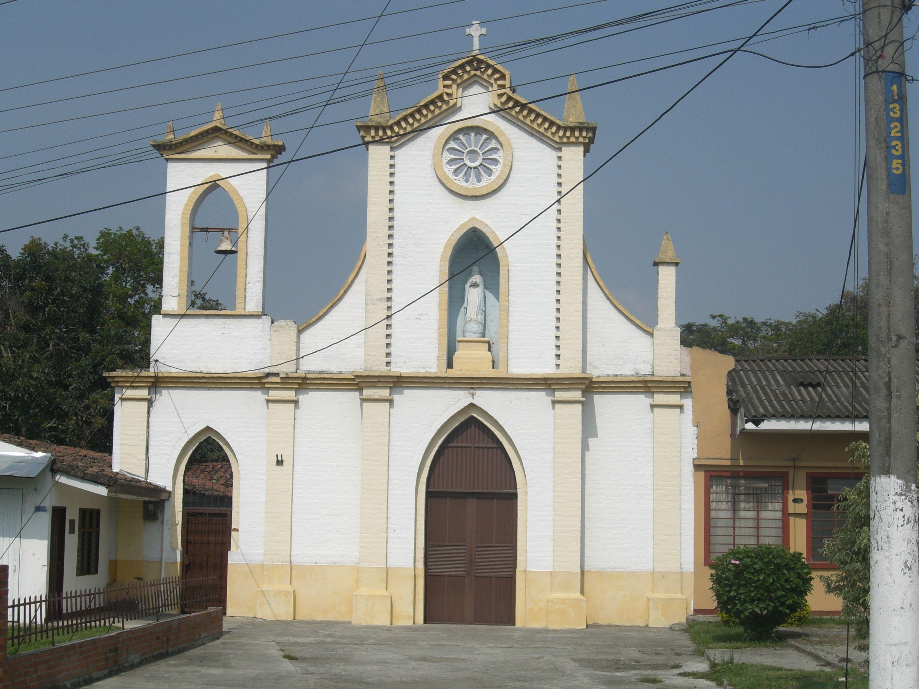 Iglesia de El Bolo, Palmira, Valle, Colombia. Año 2010.
