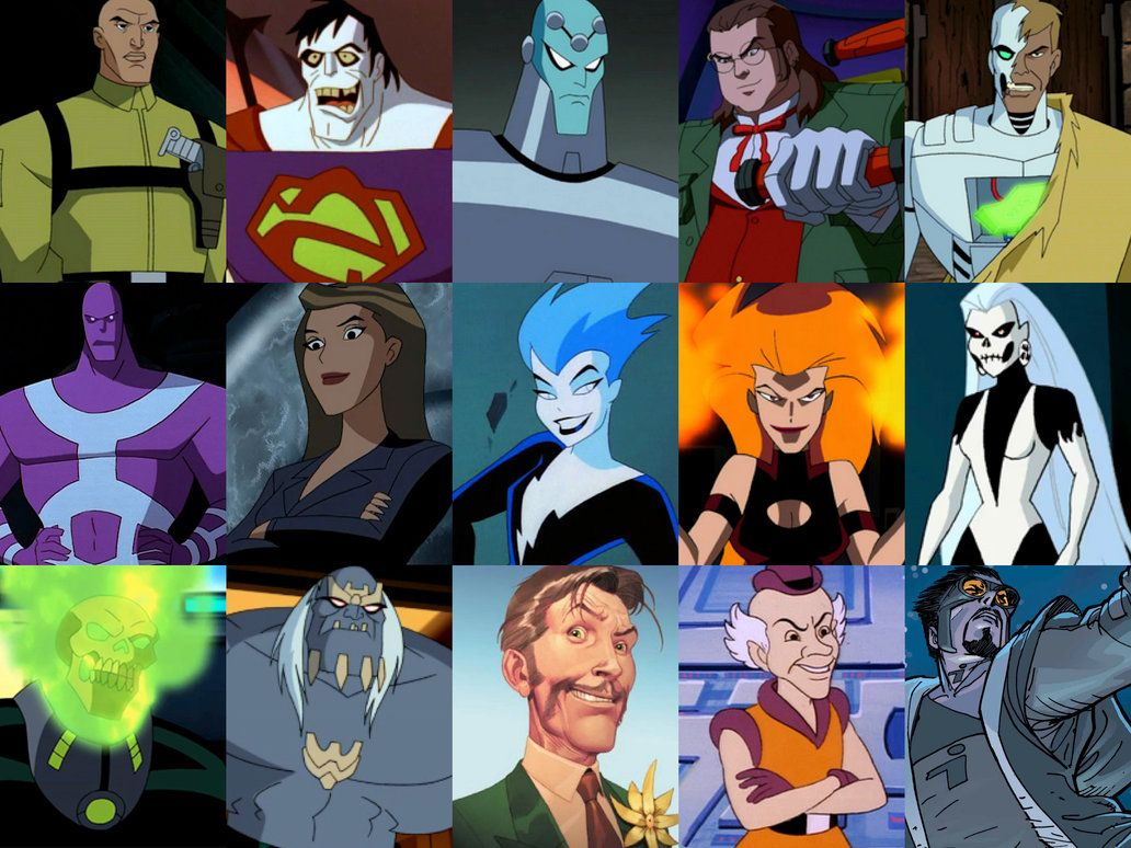 Superman villains by on
