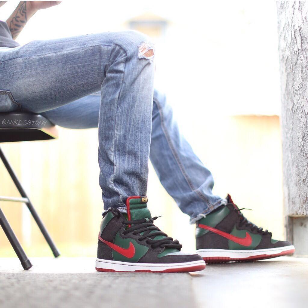 pretty nice 014a8 b59bb RESN x Nike Dunk High SB Premium