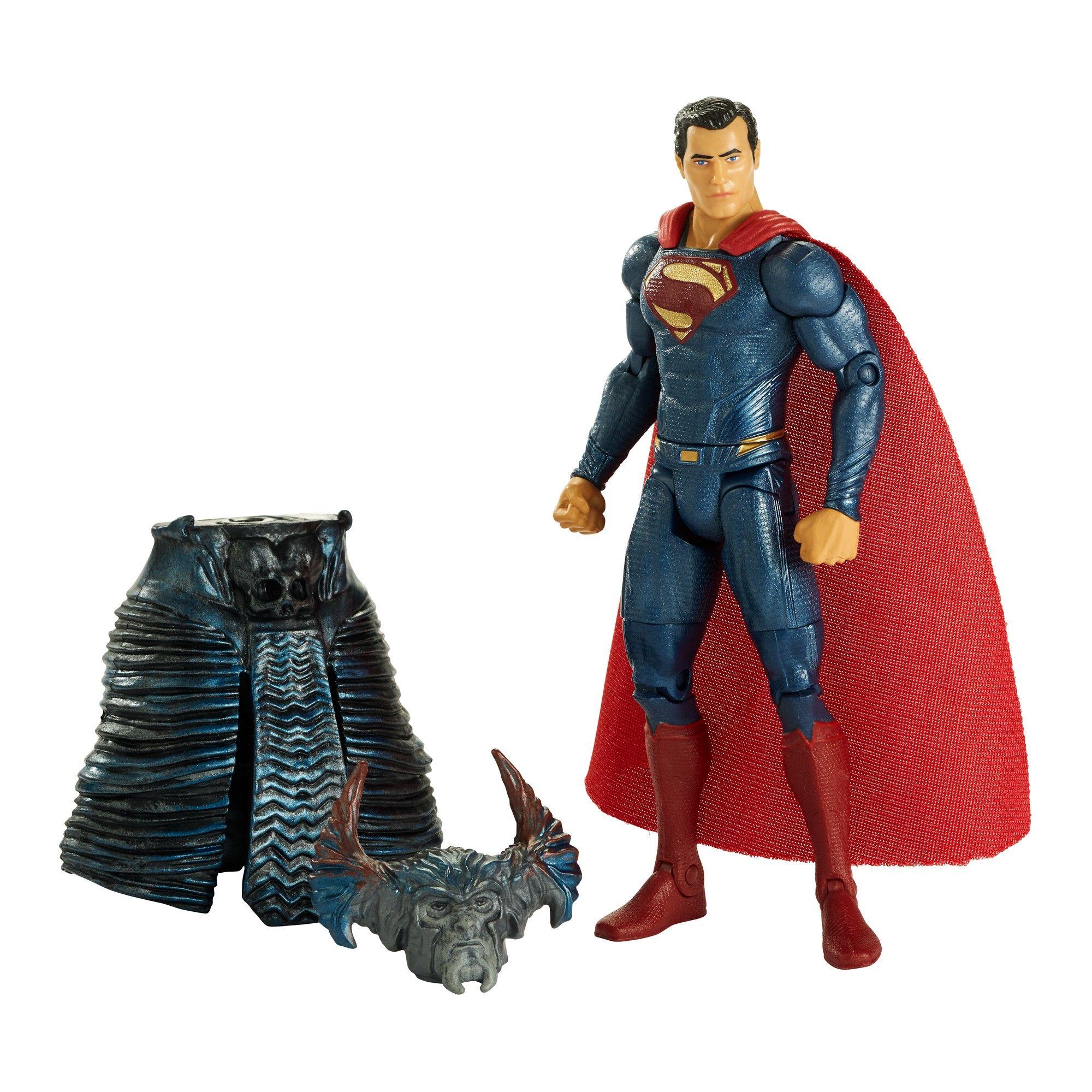 "DC Justice League Superman with Steel Beams Figure 6/"""