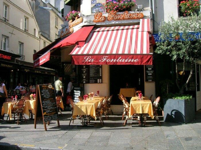 Restaurant la Fontaine 58 rue Mouffetard quartier latin Paris ...