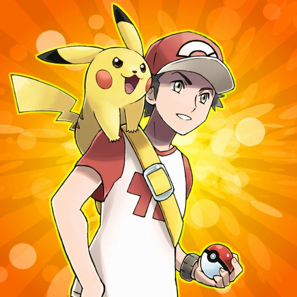 Red. | Pokemon, Pokemon trainer red, Pokemon game characters