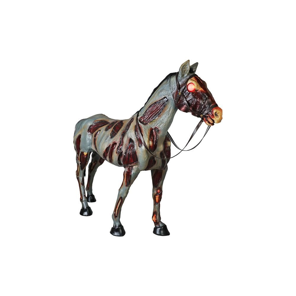 Home Accents Holiday 72 in Zombie Horse with LED Eyes Save
