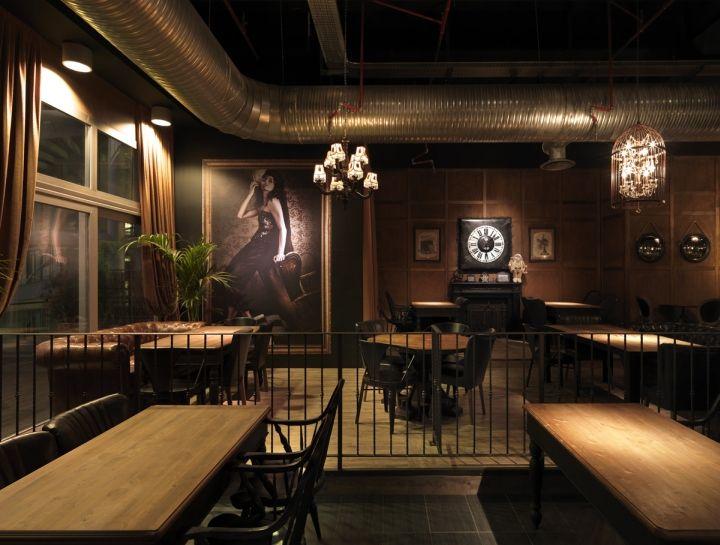 Sagamor lounge bar restaurant by andrea langhi bergamo italy restaurant lounge bar luxury - Interior design bergamo ...