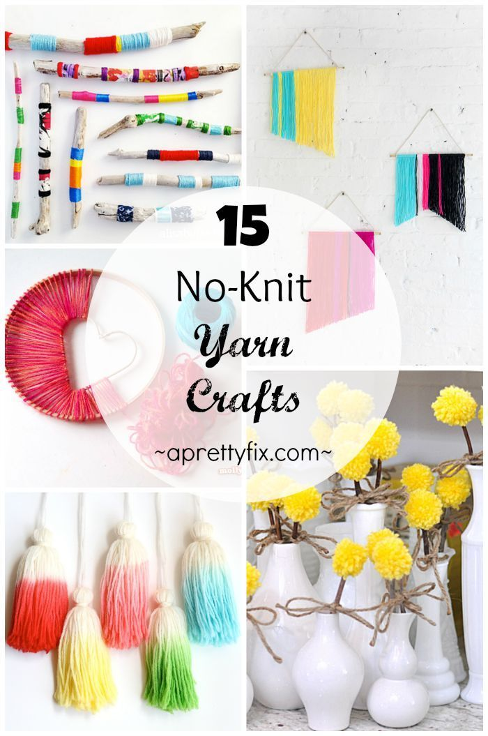 These 15 No Knit Yarn Crafts Are A Great Way To Be Inventive With Your