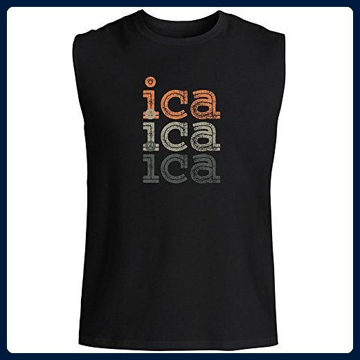 994418d7b9725 Idakoos - Ica repeat retro - Cities - Sleeveless T-Shirt - Retro shirts (