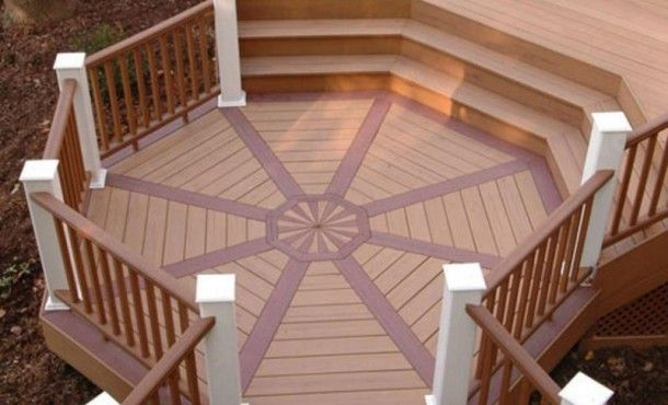 Octagon Deck Design Google Search Decks Deck Deck