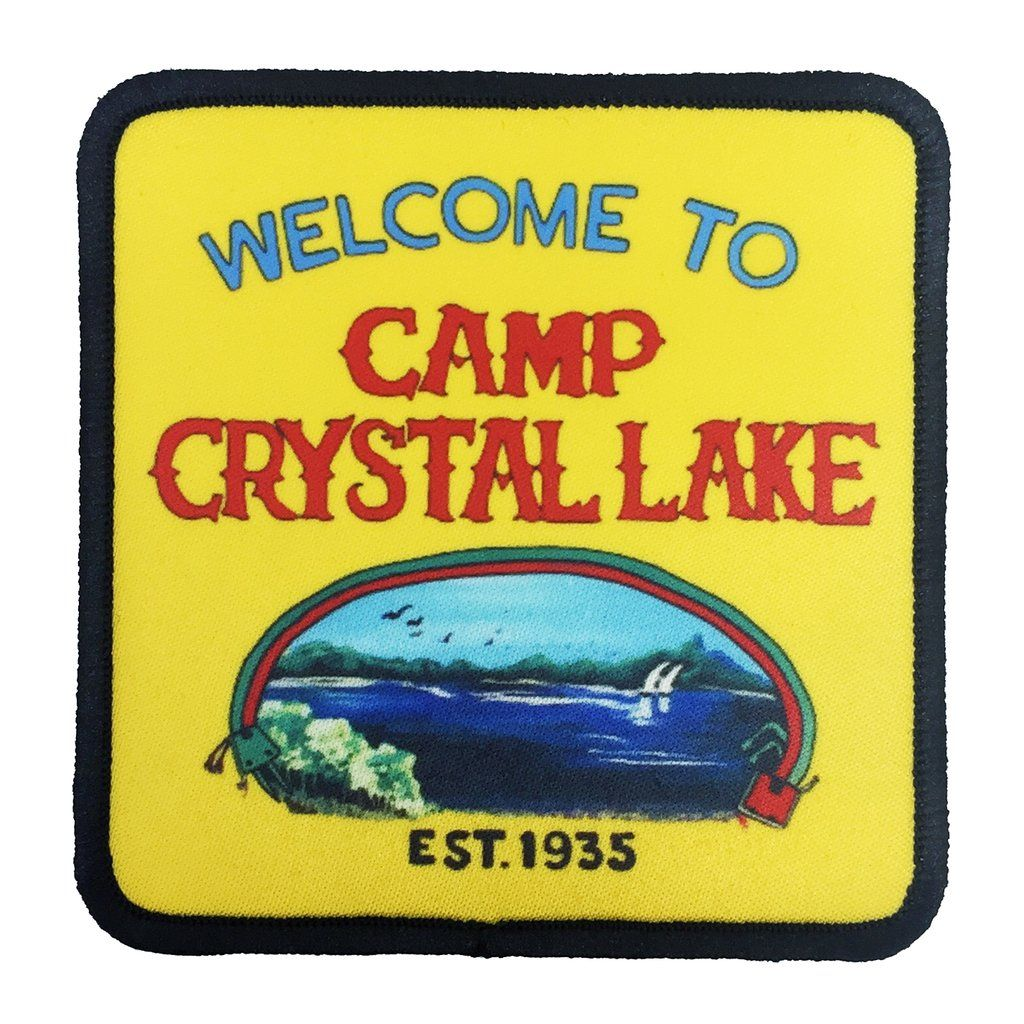 Camp Crystal Lake IronOn Patch Iron on patches, Patches