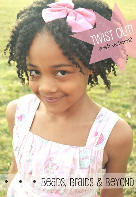 Easter Hairstyles For Little Girls With Natural Hair Curly Nikki Natural Hair Care Natural Hair Styles Little Girl Braids Twist Outs