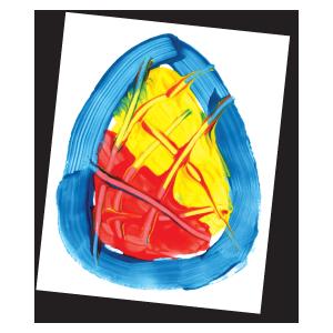 Textured Egg Craft The Mailbox Spring Preschool Activities Preschool Art