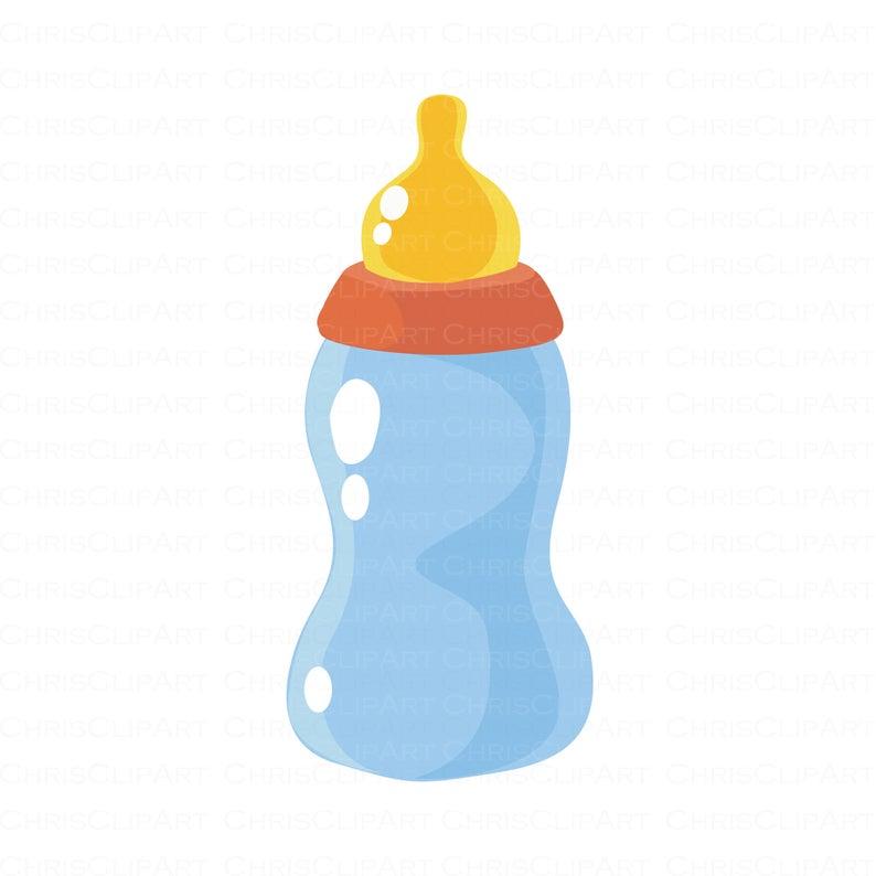 Baby Bottle Clipart Baby Bottle Svg Png Jpg Baby Shower Graphics Baby Shower Clipart In 2021 Baby Shower Clipart Baby Clip Art Baby Bottles