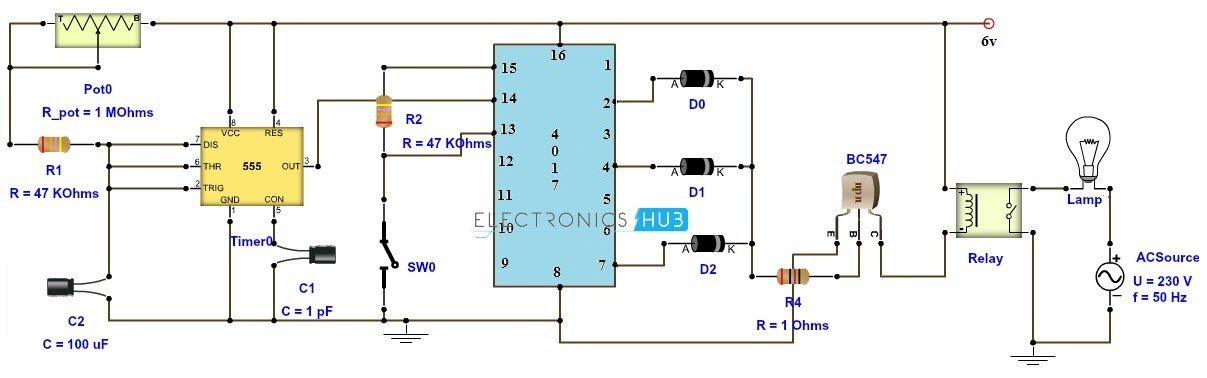 Circuit Diagram For Adjustable Timer - Wiring Diagram Save