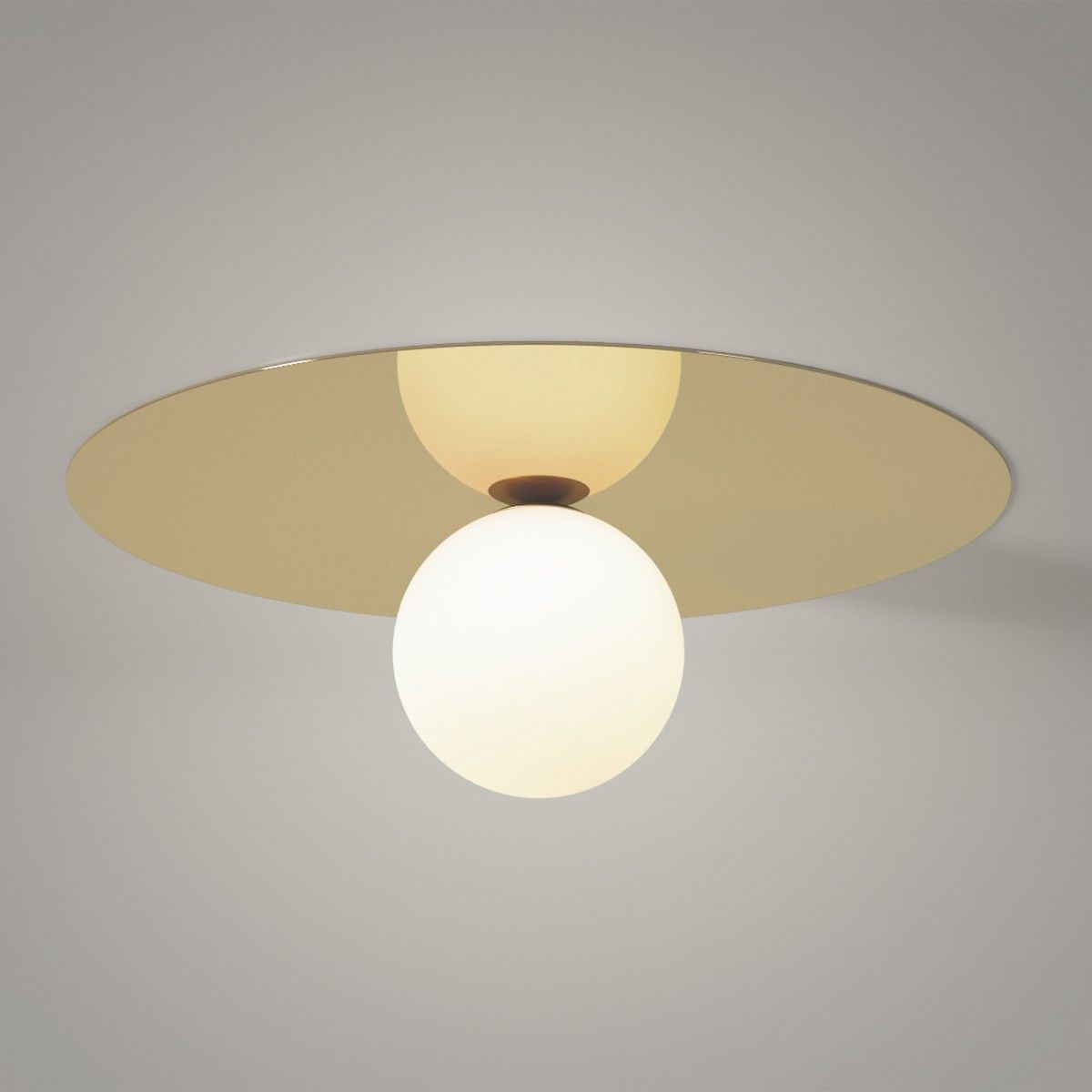 Plate And Sphere 1 Ceiling Areti Ceiling Lights Ceiling