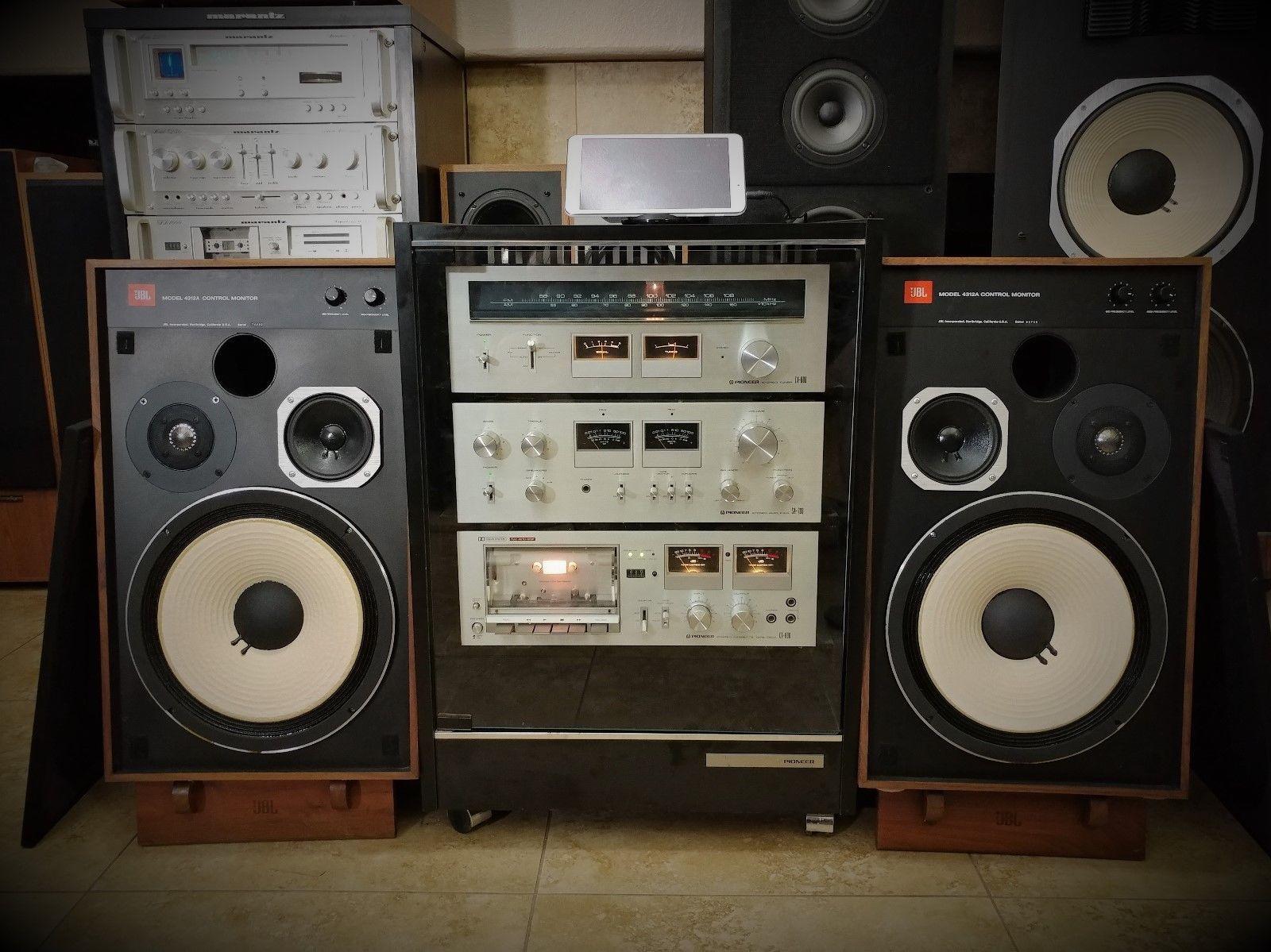 Volt Speakers Impco Lpg Wiring Diagram Jbl 4312a Vintage And Pioneer Rack Tx 606 Sa 706 Ct Multi