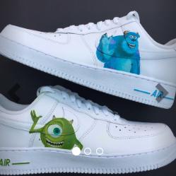 Monsters Inc Af1s nel 2020 | Scarpe da ginnastica moda