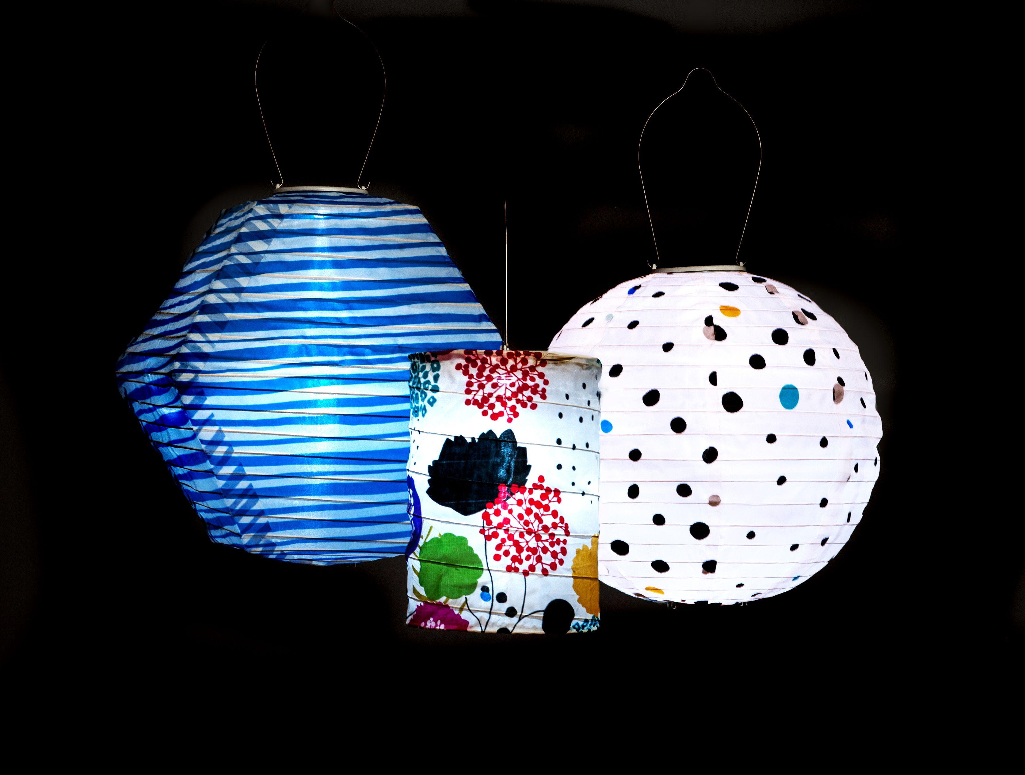 New Soji Solar Lanterns Printed