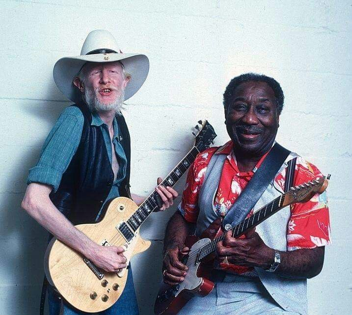 Johnny Winter & Muddy Waters - another photo, photo color.