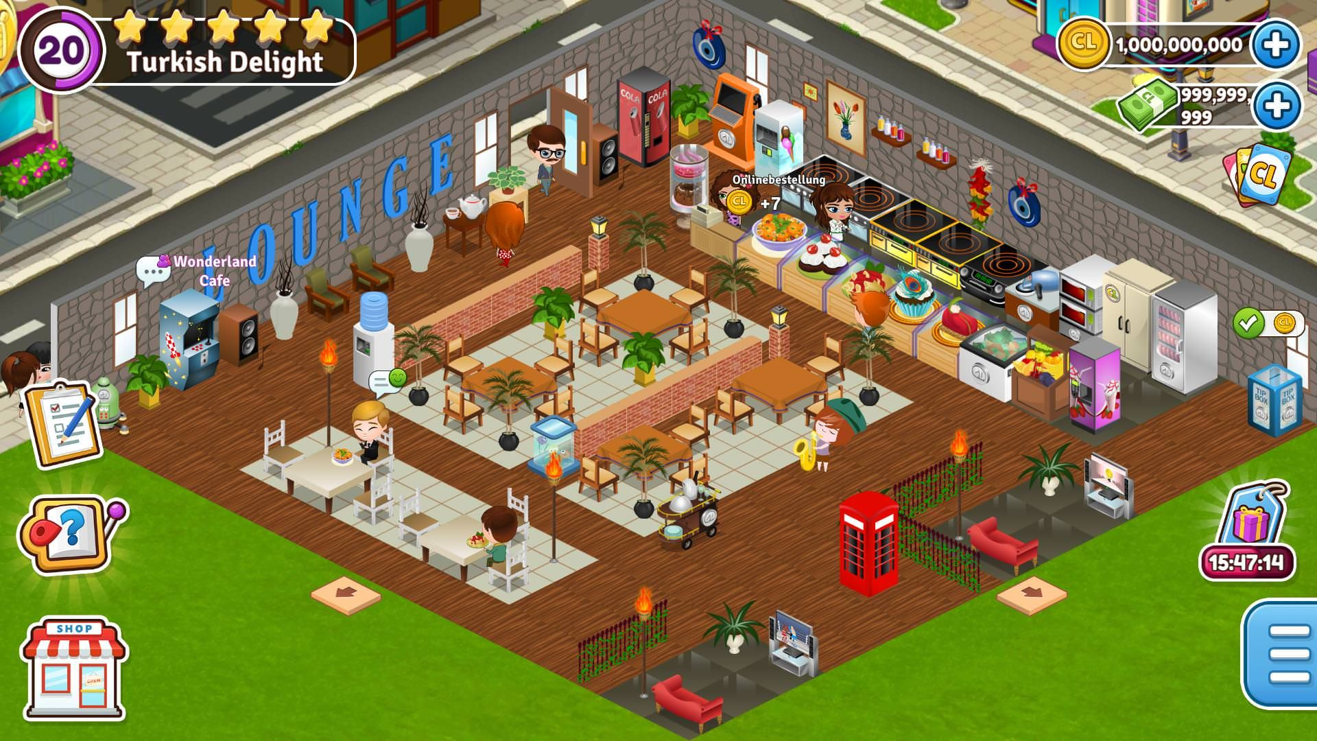 Cafeland World Kitchen Hack Tool Unlimited Free Coins