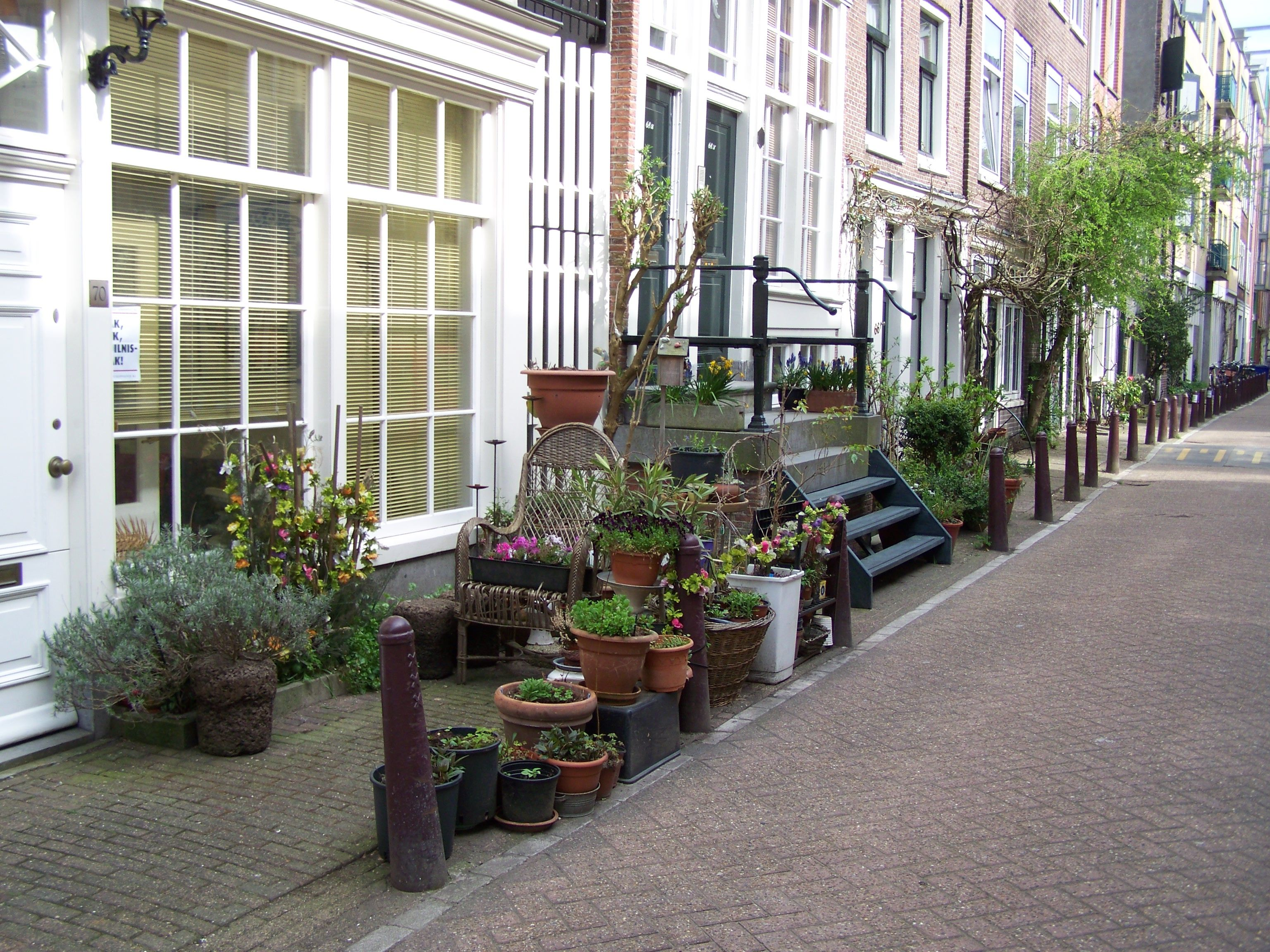 jardin sur rue