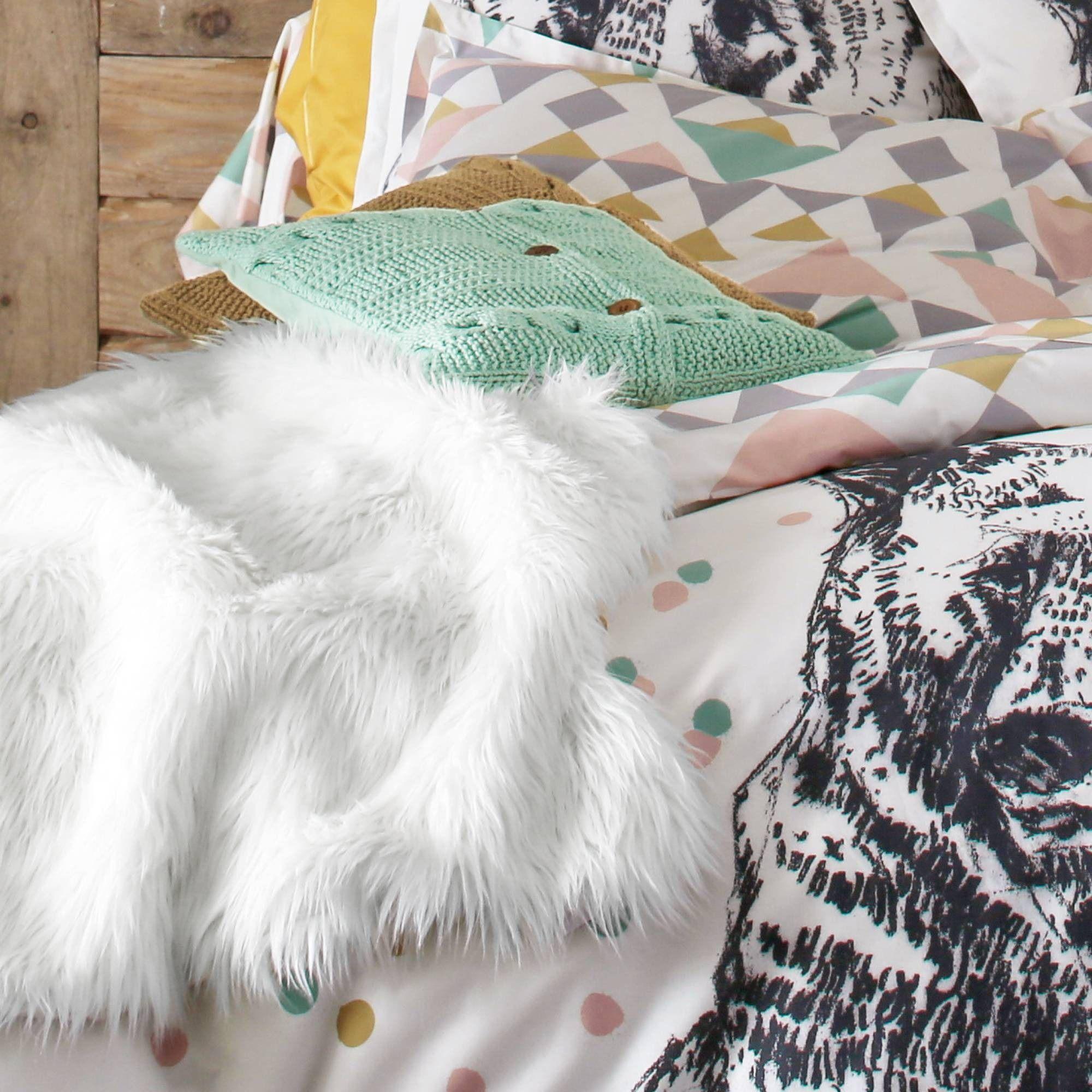 housse de couette coton ours 3 suisses homie. Black Bedroom Furniture Sets. Home Design Ideas