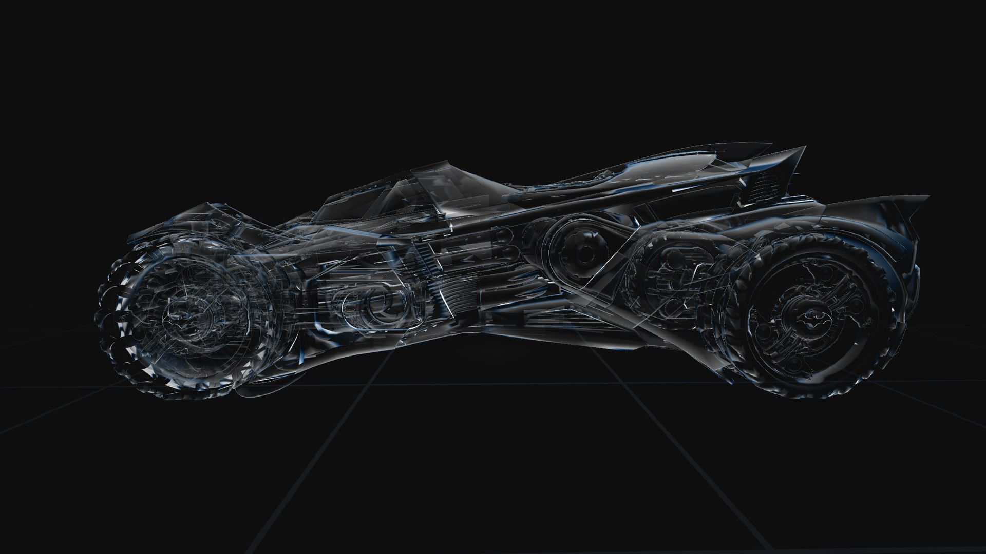 Design Development Of The Batman Arkham Knight Batmobile WebGL Experience