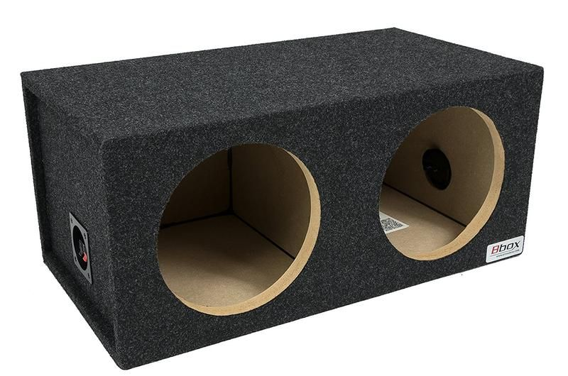 12 Inch Dual Sealed Subwoofer Enclosure Ct Sounds Subwoofer Enclosure Speaker Box Design Car Subwoofer