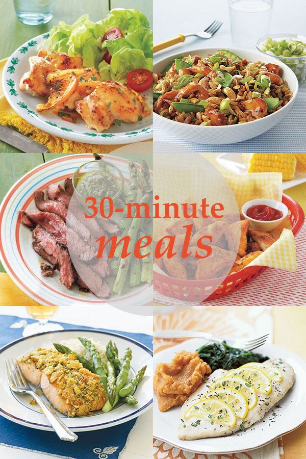 30 minute meals meal ideas meals and 30th 23 quick and easy 30 minute meal ideas for busy weeknights sisterspd