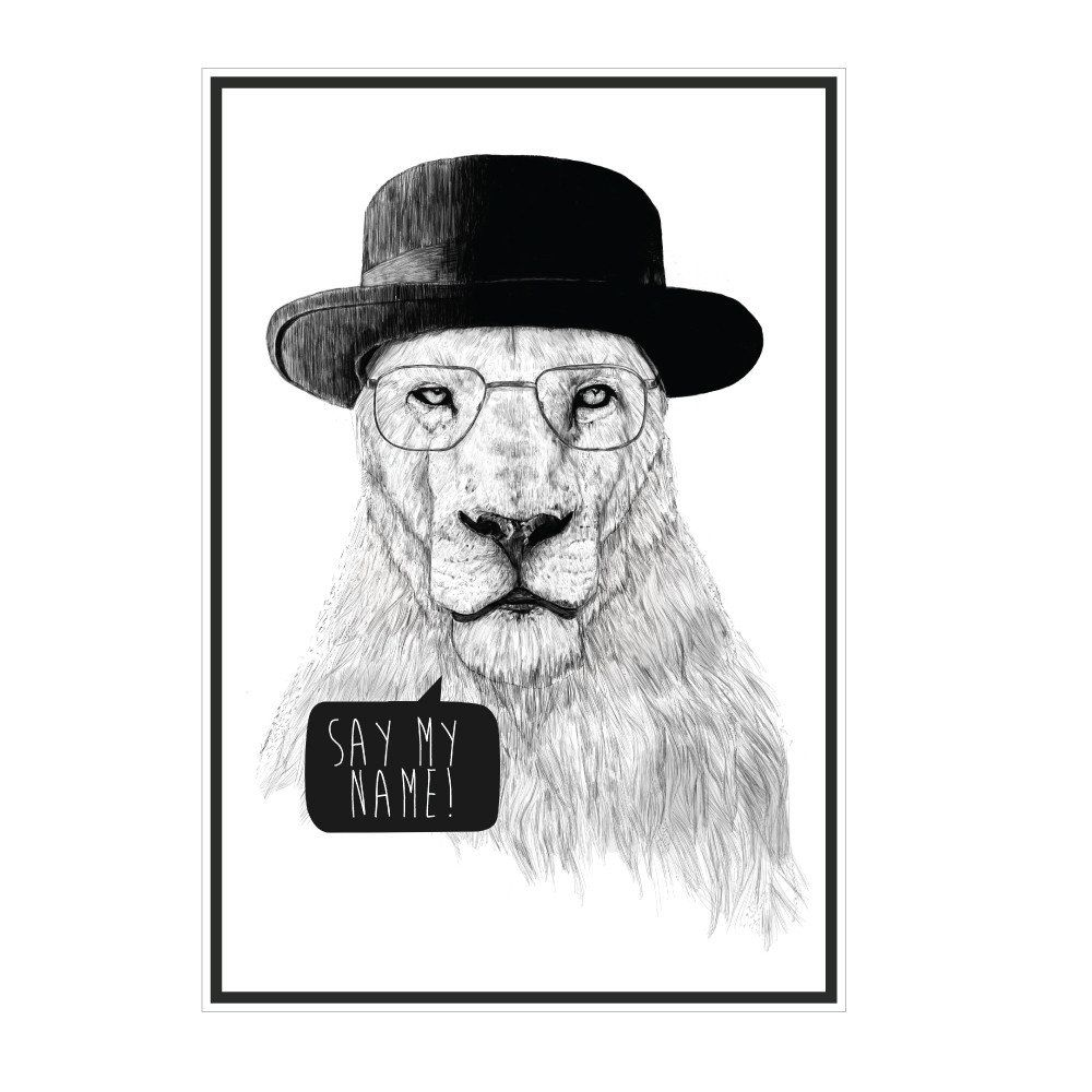 Wall decal breaking bad wall decal inspiring wall decor ideas mr white breaking bad lion wall decal products pinterest amipublicfo Choice Image