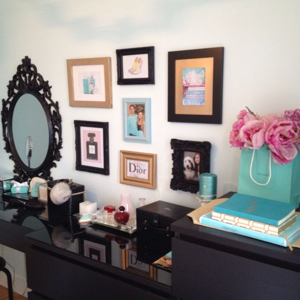 Tiffany Blue Living Room Decor Black Gold Pink And Light Blue Or Tiffany Blue Wall Frame Decor