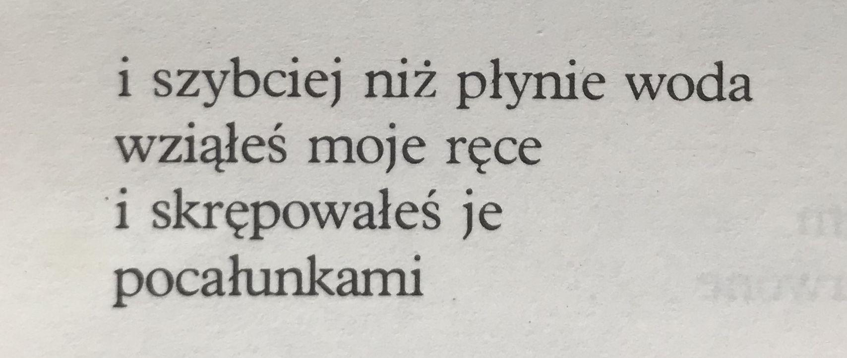 Wiersze Poswiatowska Poemoftheday Czytanki Nels Wiersze