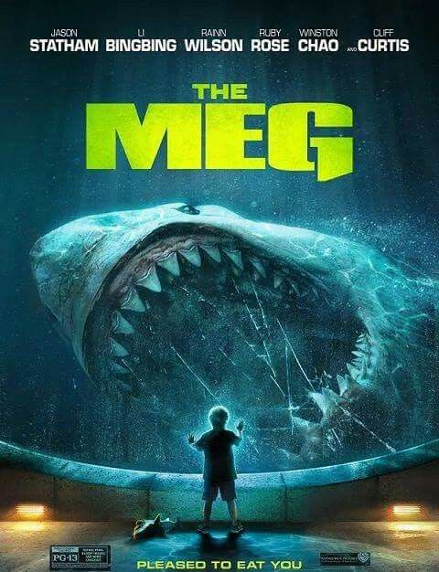 The Meg Movie Poster Meg Themeg Fantastic Movie Posters