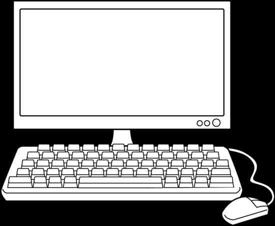 computer clipart black and white - Recherche Google | For ...Computer Repair Clip Art Black And White