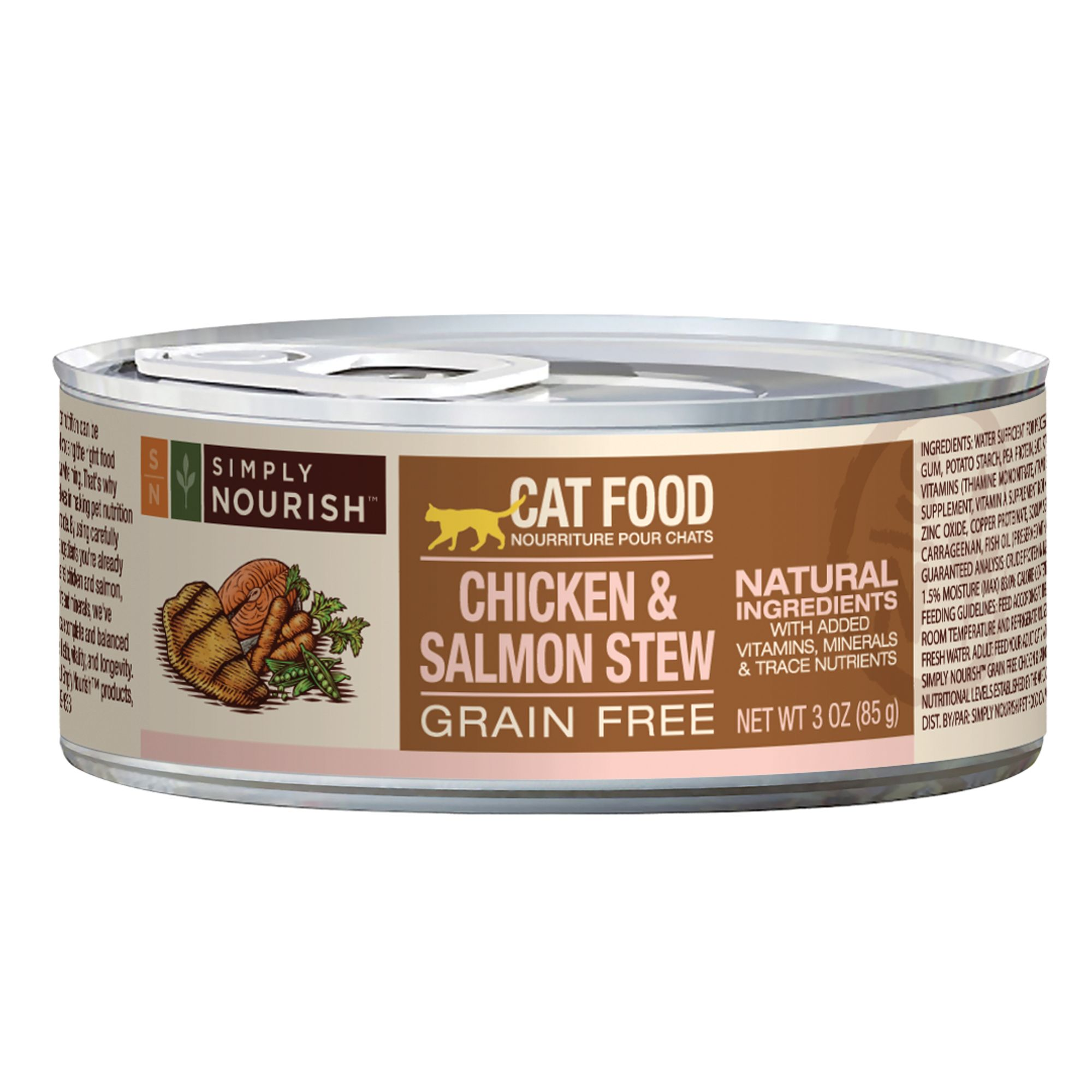 Simply Nourish Cat Food Natural Grain Free Chicken And