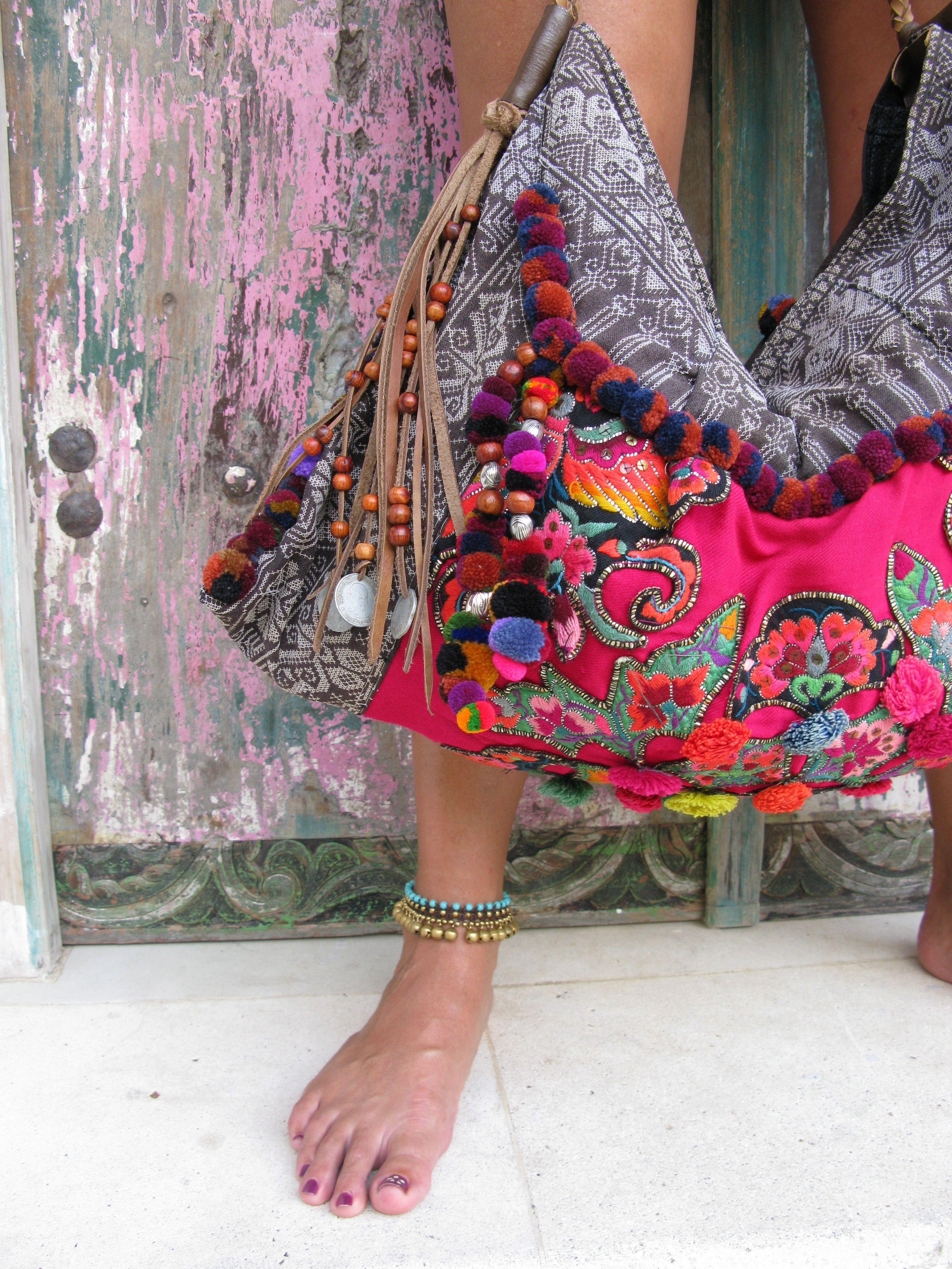 one of my all time favorite JADEtribe bags...photographed in Bali ...