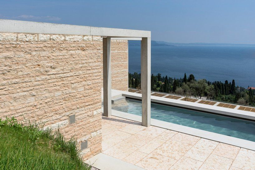 david chipperfield's villa eden overlooks lake garda in