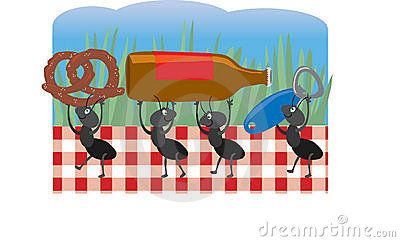 Picnic ants clip art ants at a picnic stock images image family reunions picnic ants clip art thecheapjerseys Image collections