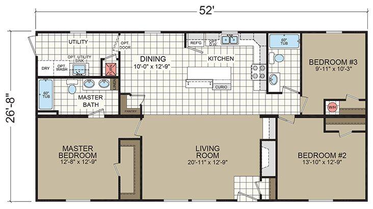 Floor Plans Gold Star 2856 215