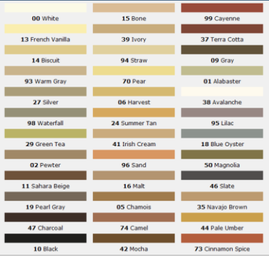 Some Good Grout Colors To Think About Lglimitlessdesign Contest Mapei Color Chart