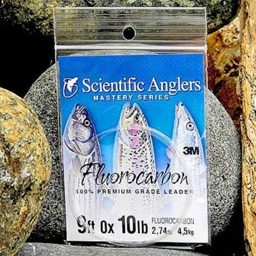 Scientific Anglers Premium Fluorocarbon Fly Fishing Leaders 9 ft